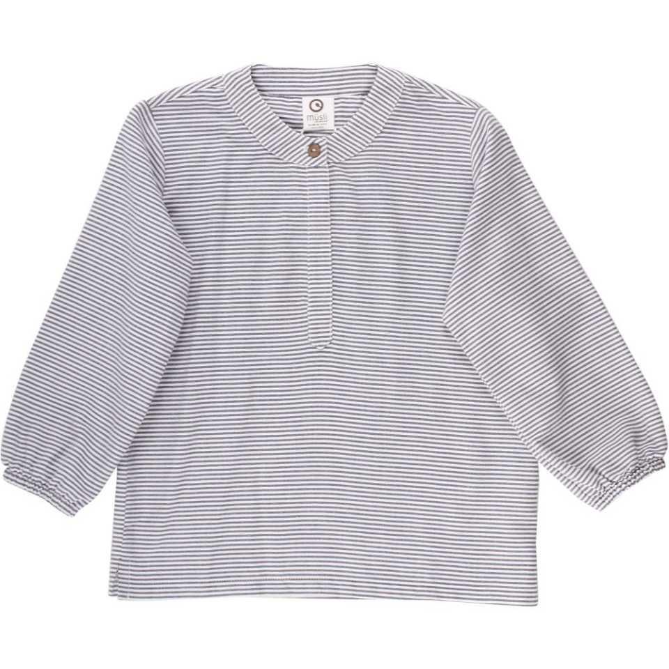 Bluză cu mânecă lungă din bumbac răcoros