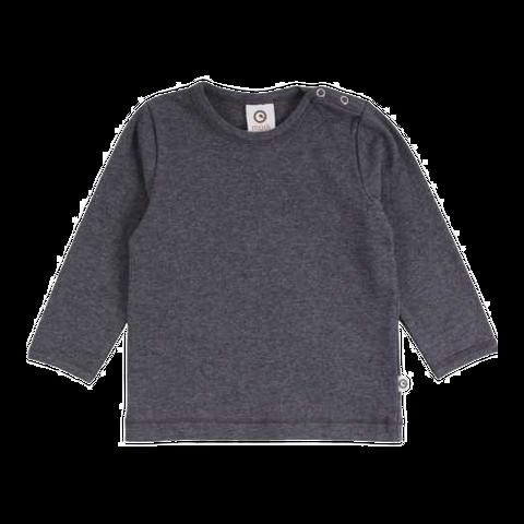 Bluză Cozy Me gri cu mânecă lungă pentru copii