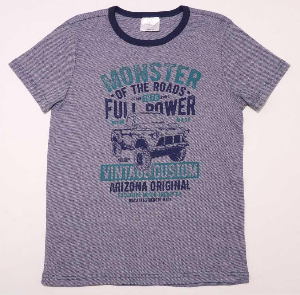 Tricou cu mânecă scurtă cu imprimeu mașină de teren