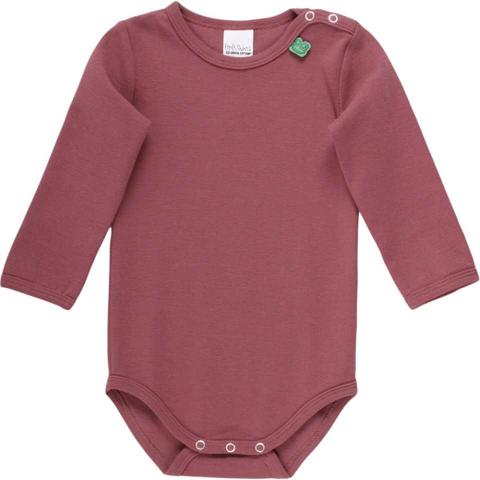 Body roz din bumbac organic pentru fetițe