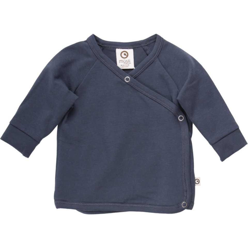 Bluză petrecută cu capse pentru bebeluși